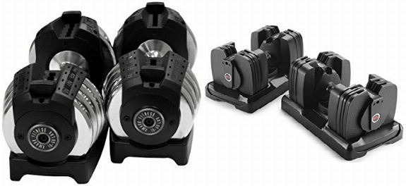 XMark Adjustable Dumbbell vs Bowflex SelectTech 560 Dumbbells